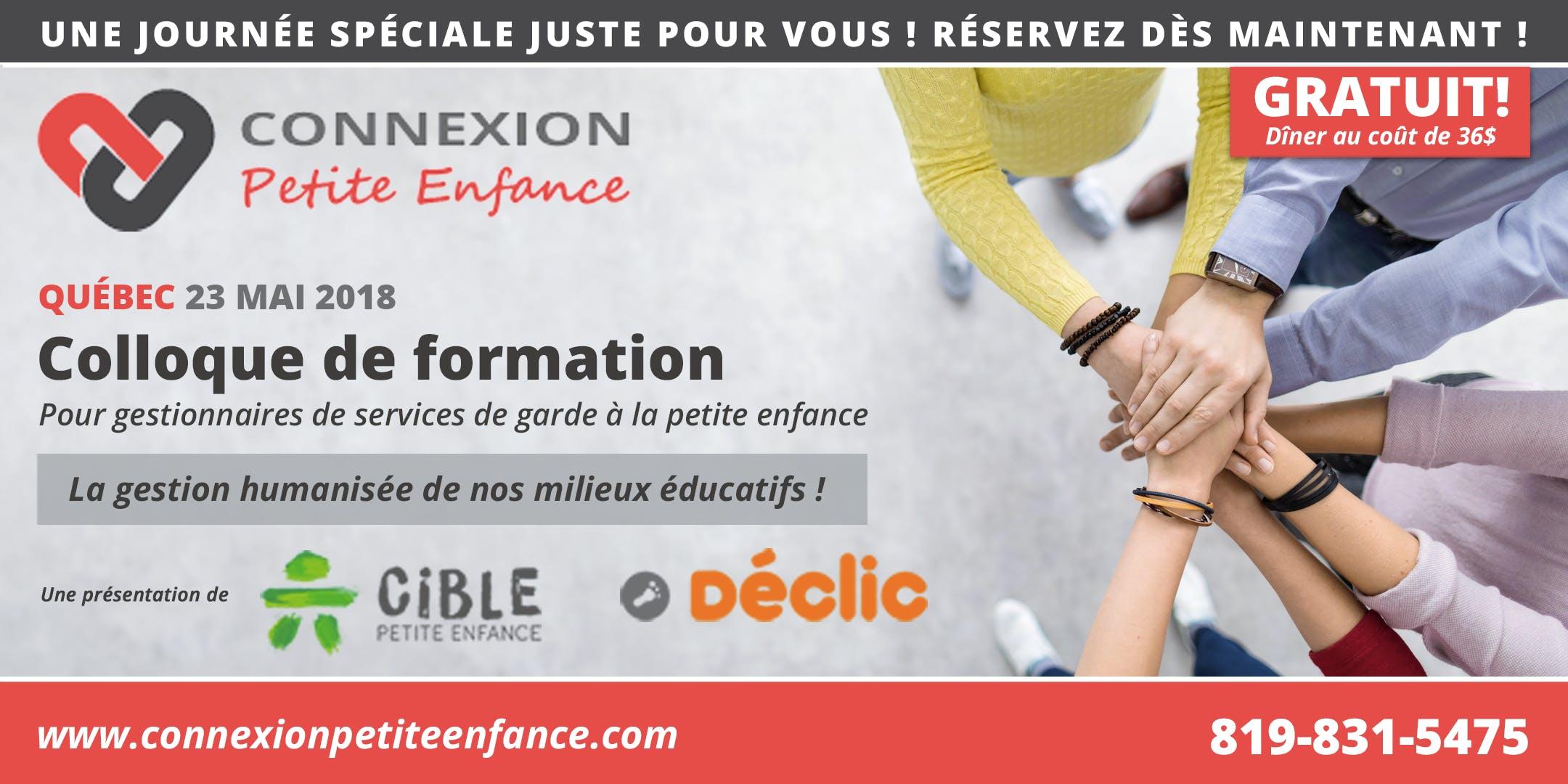 Colloque de formation Québec : La gestion hum