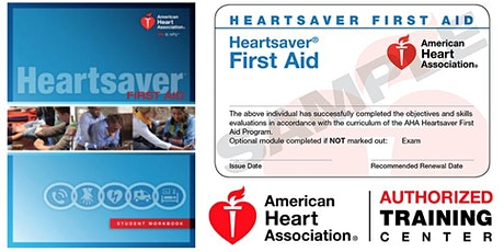 Heartsaver First Aid (No CPR/AED) Class tickets