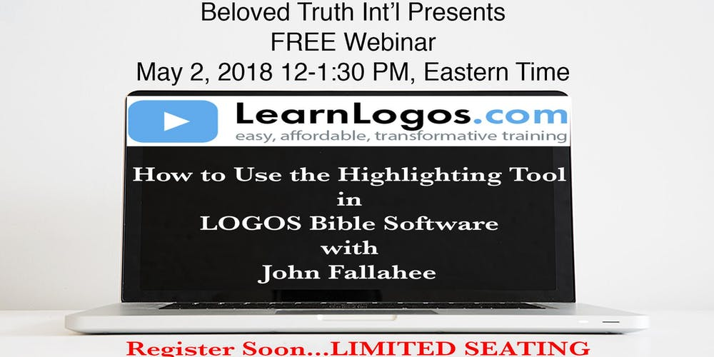 Faithlife how to use the highlighting tool in logos bible software with learn logos fandeluxe Images