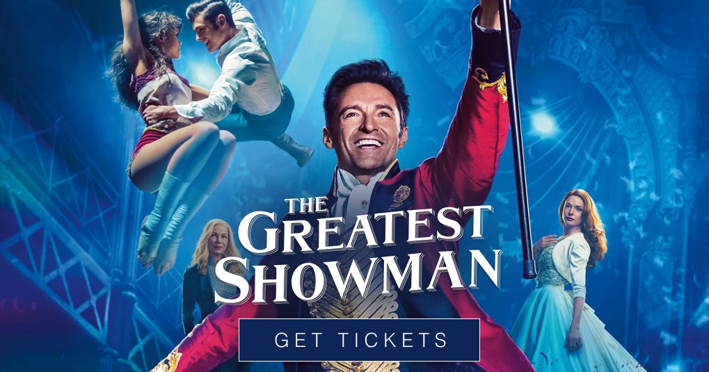 The Greatest Showman on Outdoor Cinema in Glo