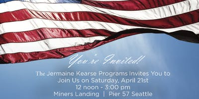 event in Seattle: Gold Star and Military Kids Day at Miners Landing