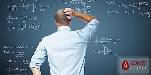 Free GMAT Math Refresher Class (Downtown Toronto)