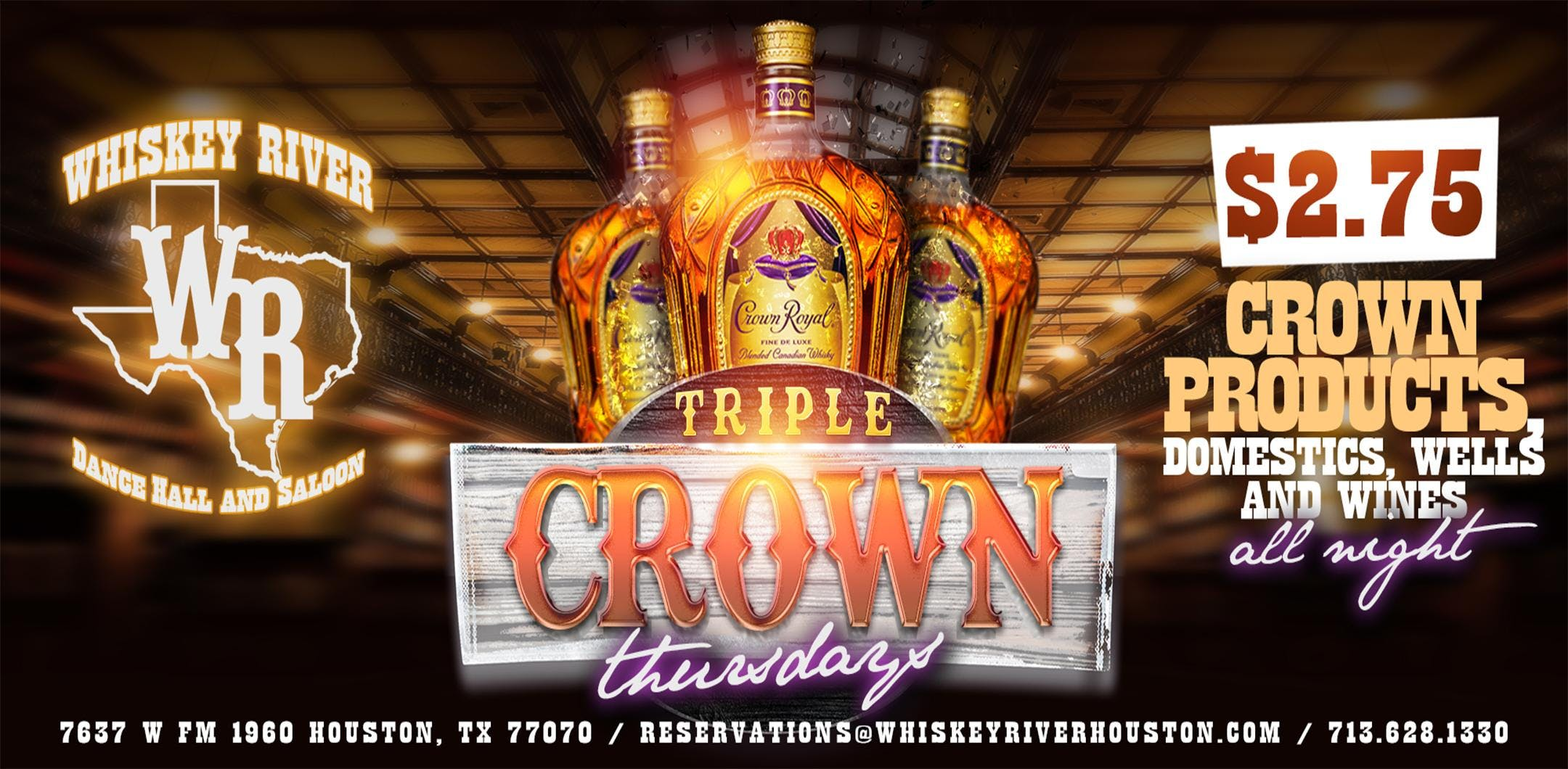 NO COVER TILL 10 - Triple Crown Thursdays at
