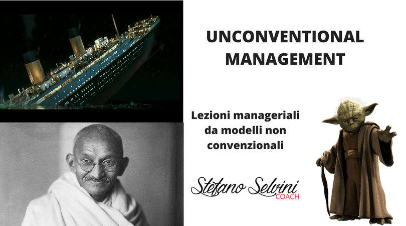 PRESENTAZIONE UNCONVENTIONAL MANAGEMENT