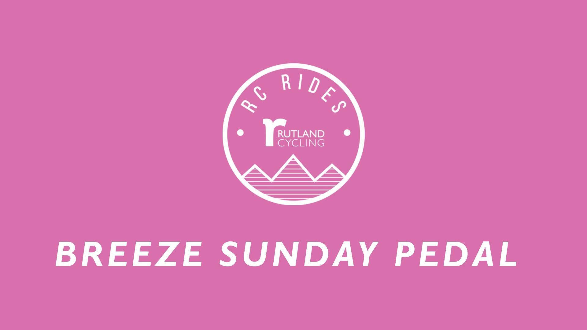 Breeze Sunday Pedal Ride