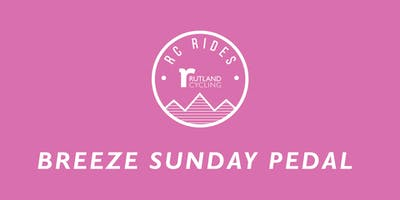 Breeze Sunday Pedal Ride - Whitwell