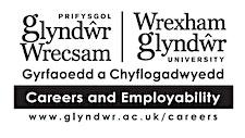Wrexham Glyndŵr University Careers & Employability service logo
