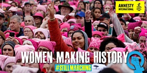 Women Making History Festival: #StillMarching