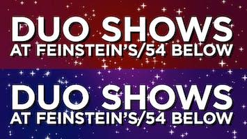 Duo Shows at 54 Below Series