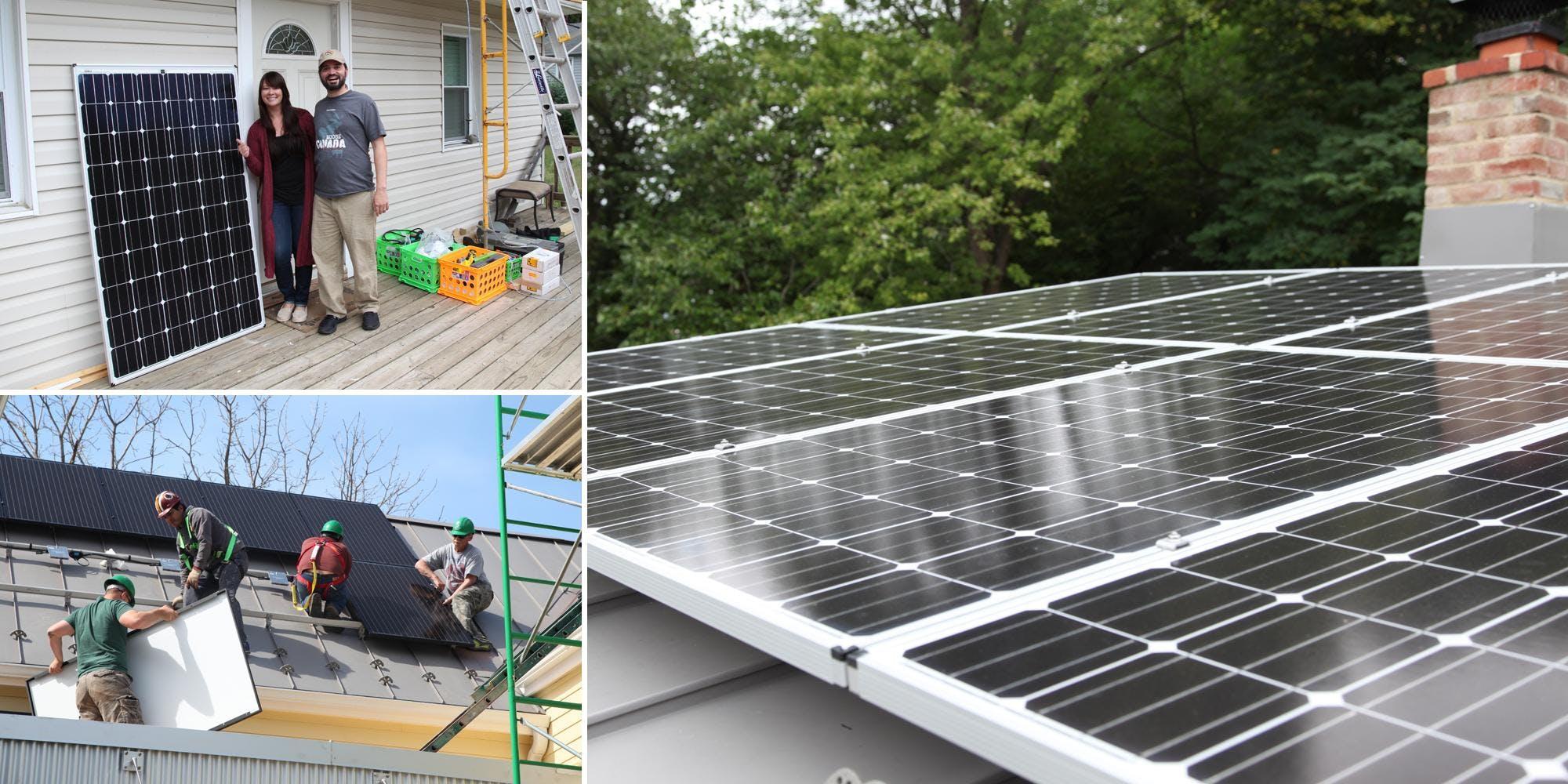 Solarize Info Session in Charlottesville