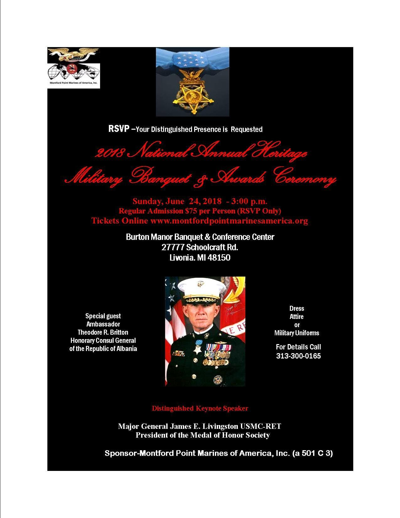 2018 National Annual Heritage Military Banque