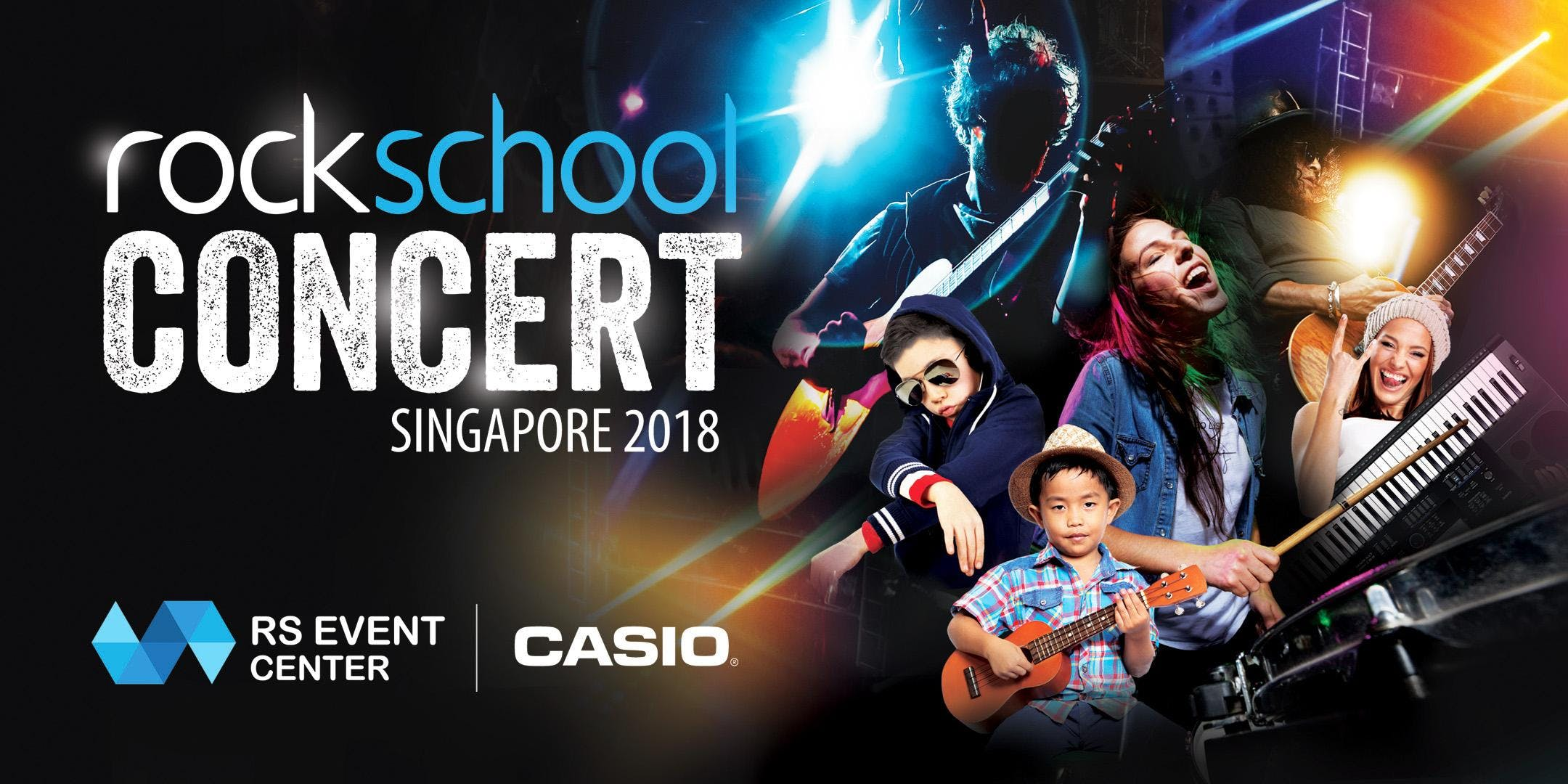 Rockschool Concert Singapore 2018