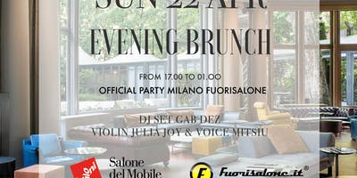 Evening Design Brunch - Fuori Salone