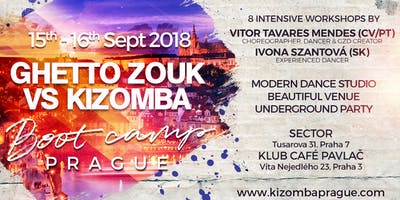 September Ghetto Zouk Dance vs Kizomba boot camp with party in Prague