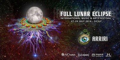 ARRIRI Full Lunar Eclipse 2018, Sicily