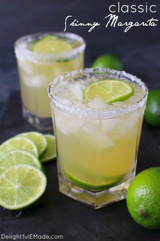 Skinny Margaritas & Guacamole