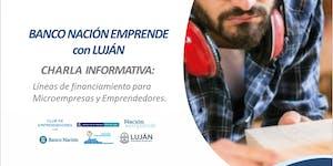 Charla informativa del Banco Nación: Líneas de...
