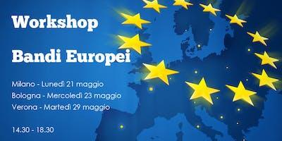 I Finanziamenti Europei per le PMI - Workshop Verona