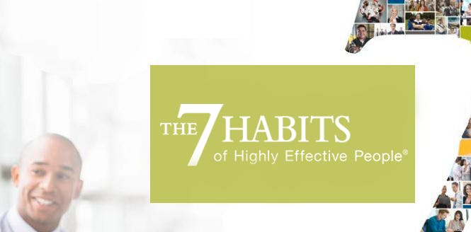 The 7 Habits of Highly Effective People | FranklinCovey