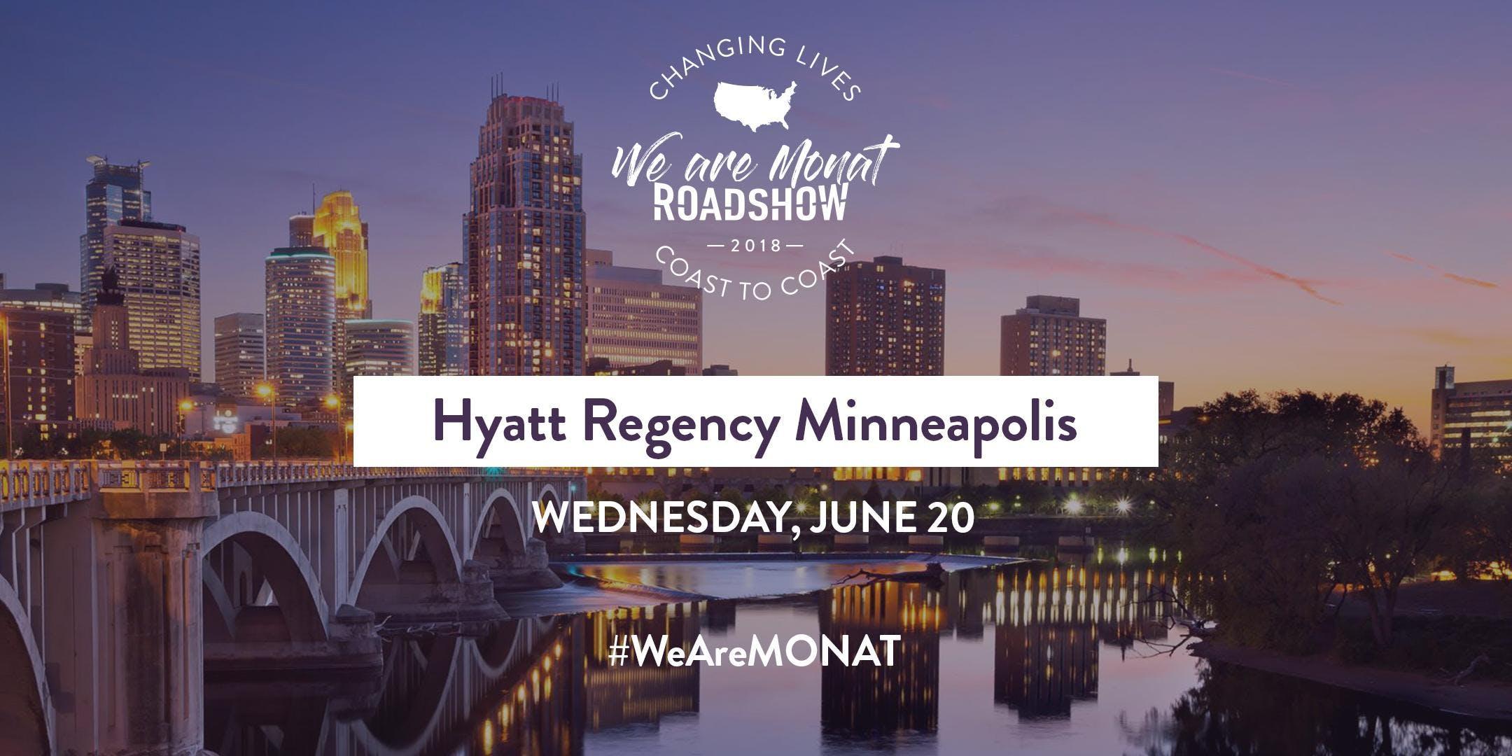 We Are MONAT Roadshow 2018: Minneapolis
