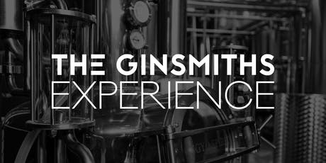 The Ginsmiths Experience- Distillery Tour & Tasting tickets