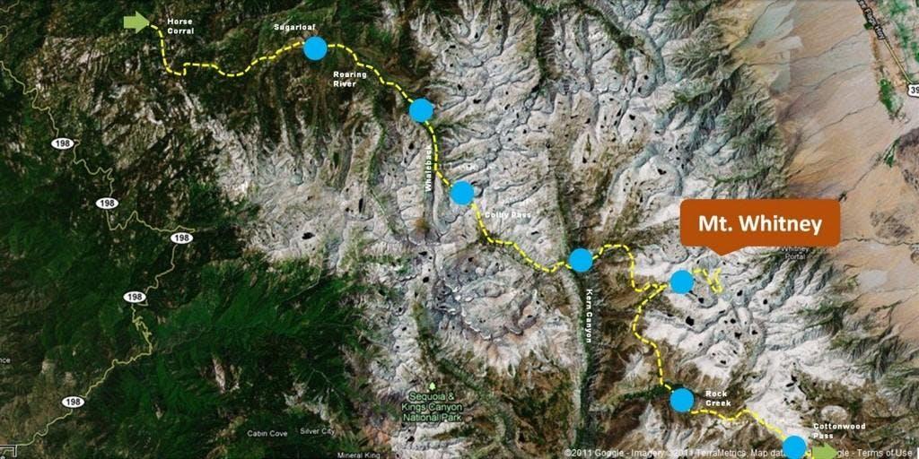 Backpacking the Sierra to Mt. Whitney - Phoenix, AZ