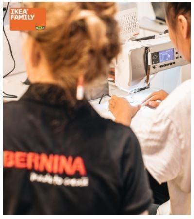 Bernina Ikea Family Sewing Workshop 17 May 2018