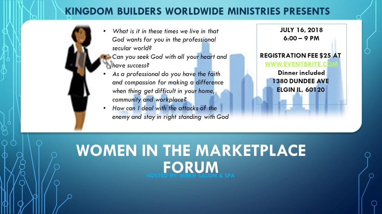 WOMEN IN THE MARKETPLACE FORUM