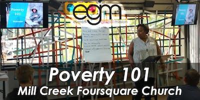 EGM Poverty 101 @ Mill Creek Foursquare Church w/ Martha Lake Bapist Church and North  Creek Presbyterian Church