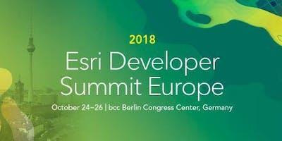 2018 Esri Developer Summit Europe