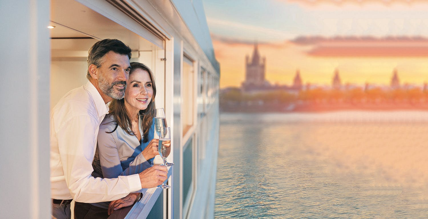 Cruise Europe's Rivers From $2,999* - 6pm, Tu