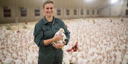 Boerderijbezoek TURKEY FARM OSPEL B.V.