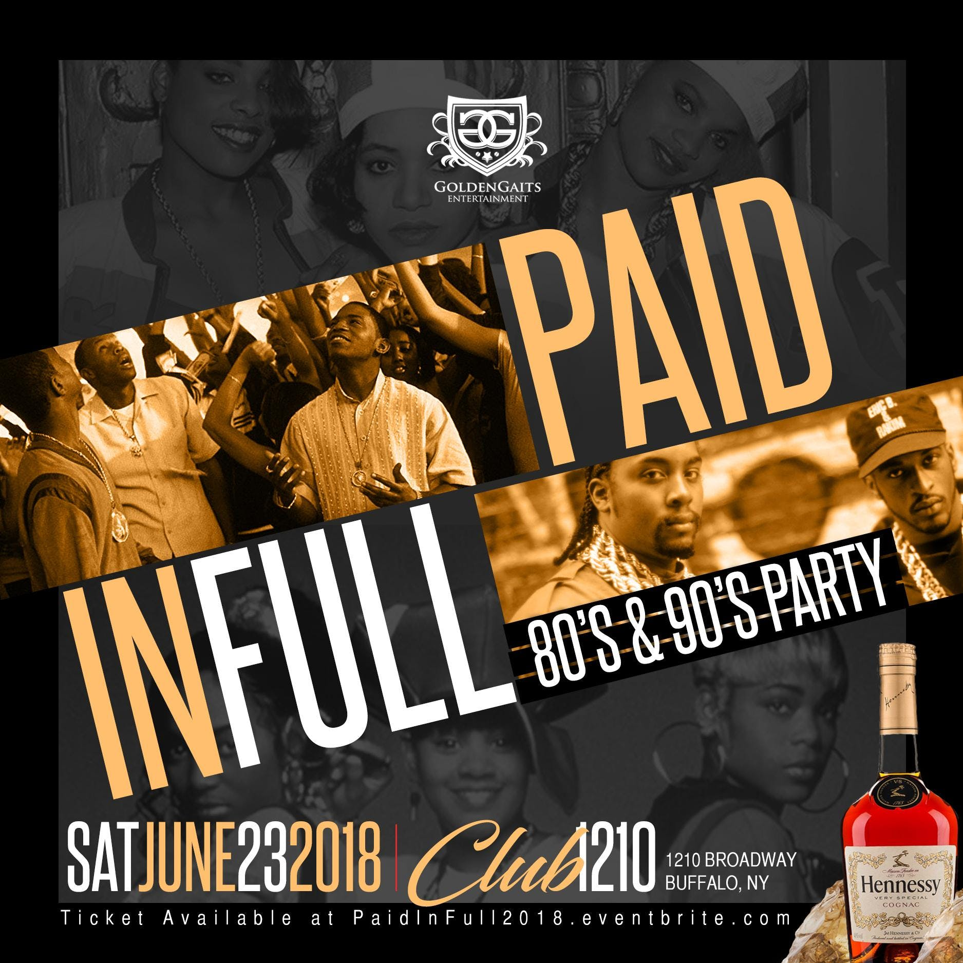 Paid In Full - 80s & 90s Party