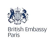 British Embassy Paris logo