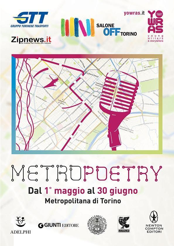 Metro Poetry Torino - Salone Off - fino al 30