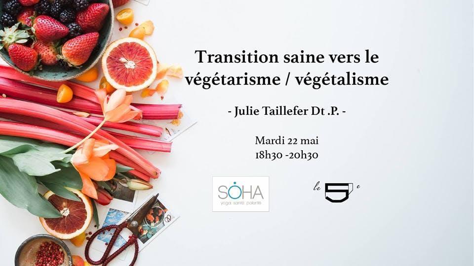 TRANSITION SAINE VERS LE VÉGÉTARISME / VÉGÉTA