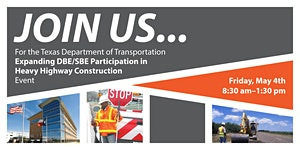 TxDOT Houston: Heavy Highway Construction DBE...