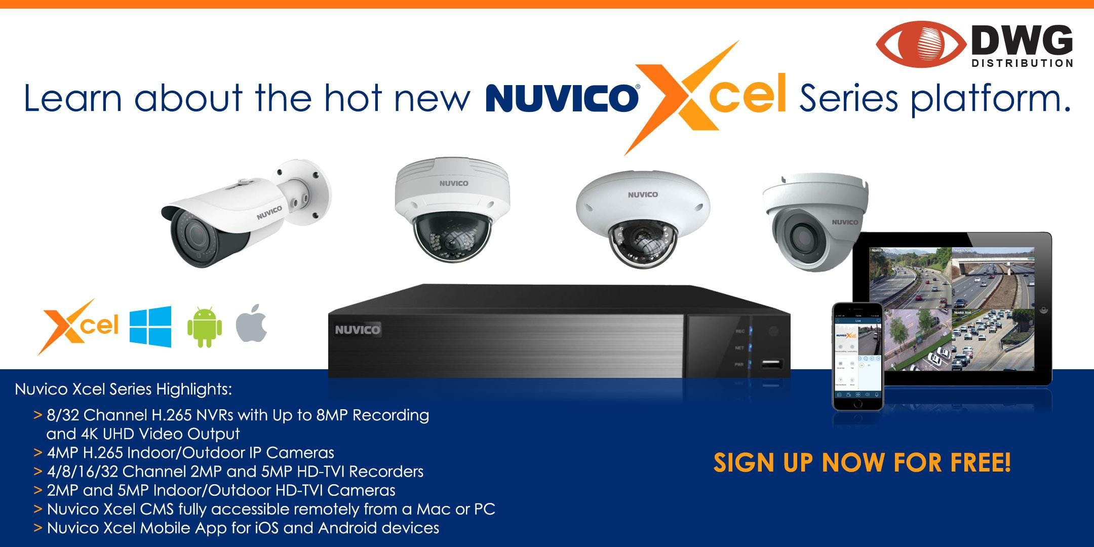 Nuvico Xcel Series Counter Day
