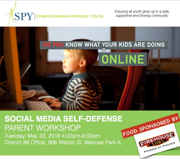 Social Media Self Defense Parent Workshop