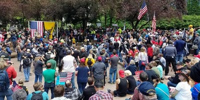 Free Speech Rally Portland