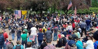 Free Speech Rally Portland