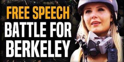 Free Speech Rally in Berkeley
