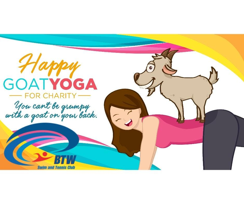 Happy Goat Yoga-For Charity: Bent Tree West S