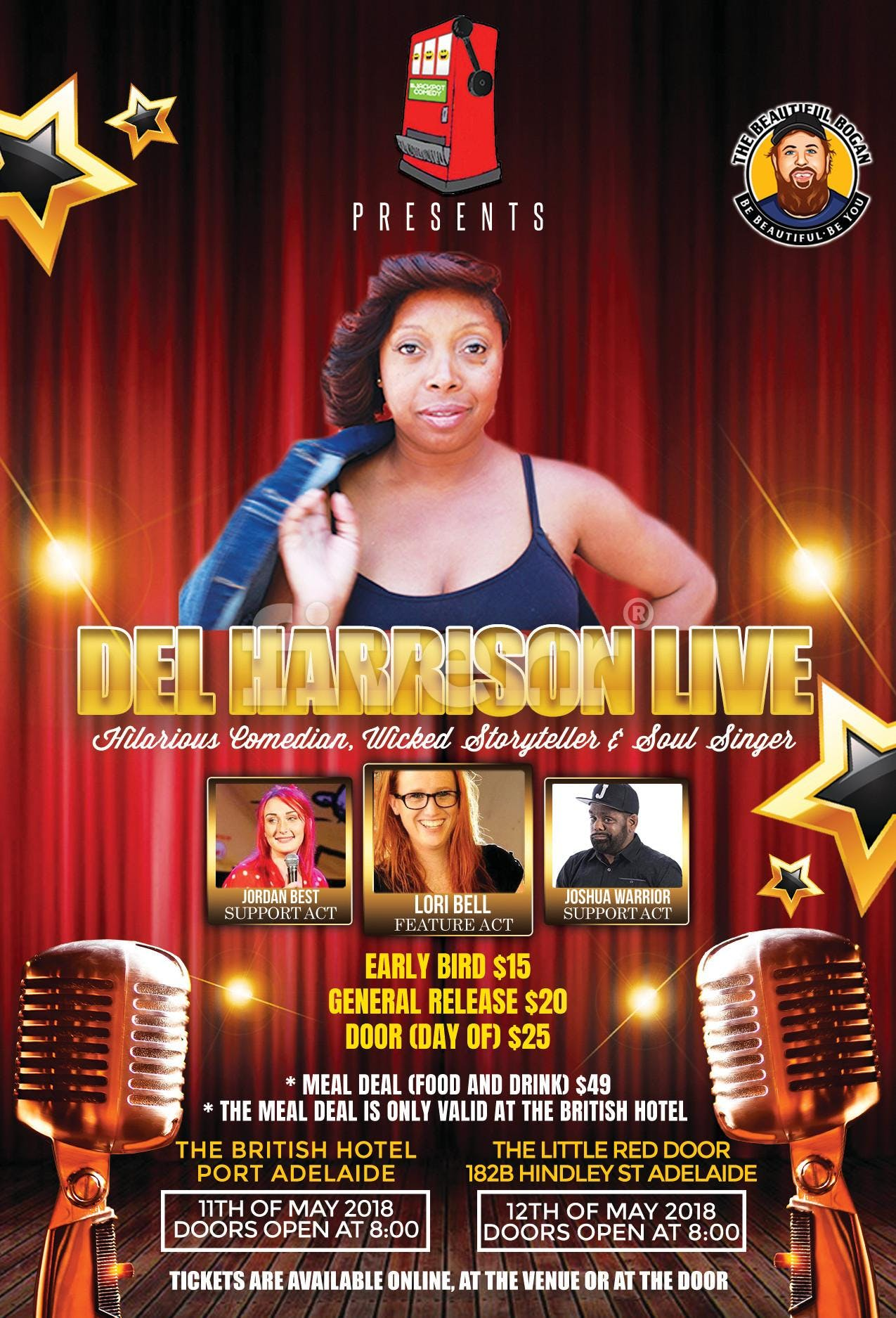 Del Harrison Live Standup Comedy Storytelling Sangin 12 May 2018