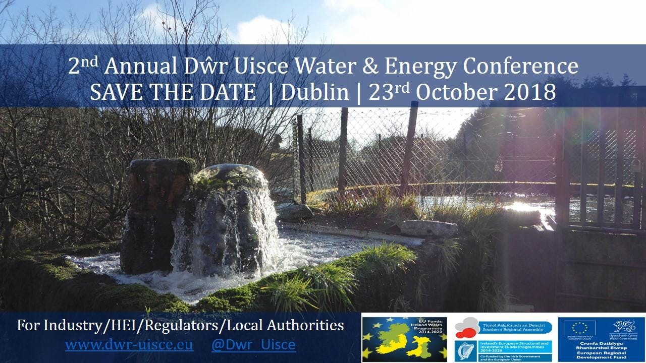2nd Annual Dwr Uisce Water & Energy Conference