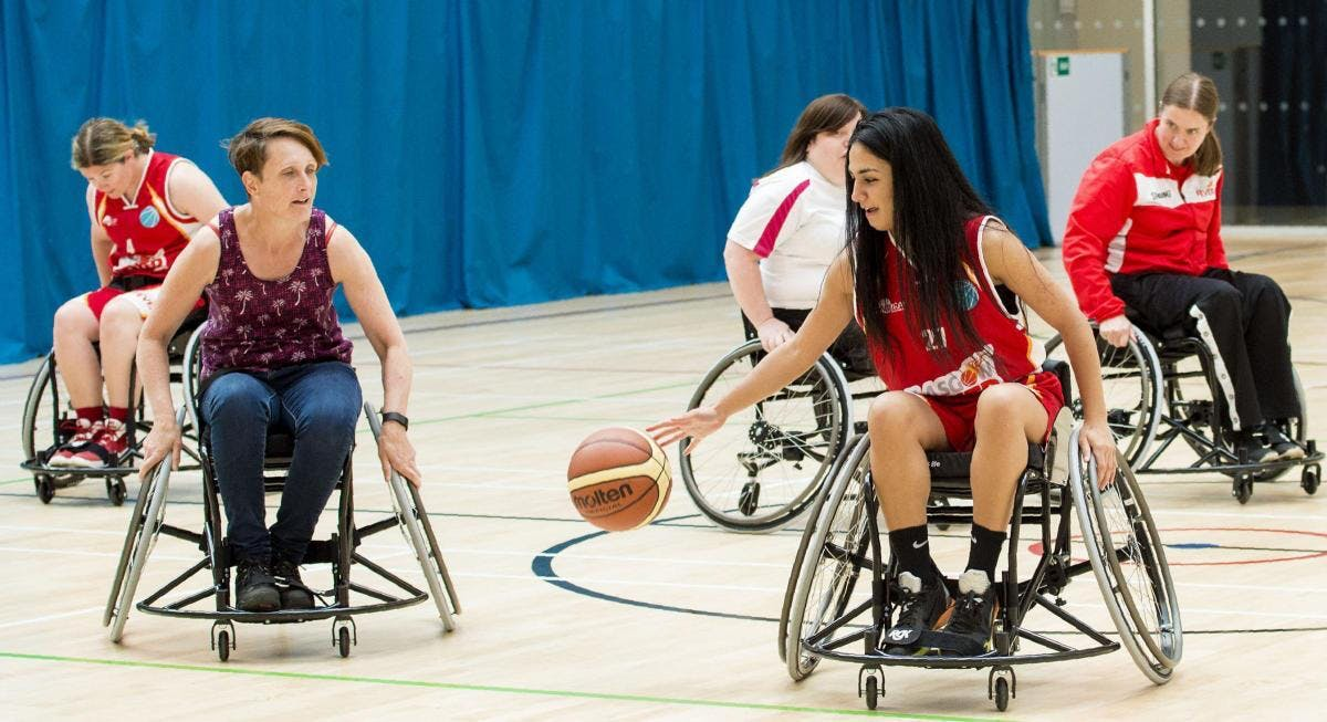 Try Wheelchair Basketball Session (GLASGOW) -