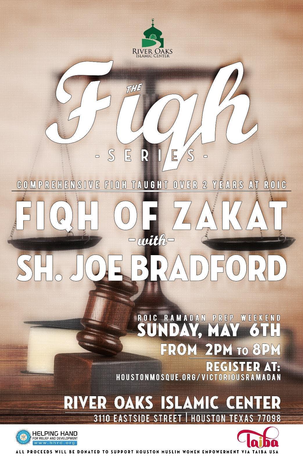 Fiqh of Zakah with Sheikh Joe Bradford