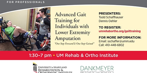 ADVANCED GAIT TRAINING FOR PERSONS WITH AMPUTATION