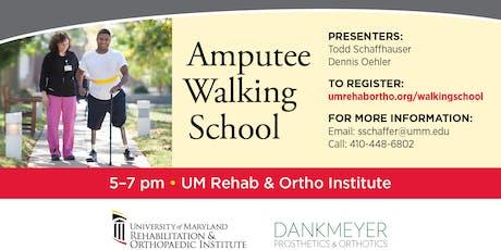 Amputee Walking School  tickets