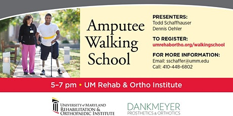 Amputee Walking School  tickets